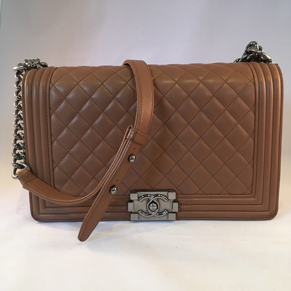 choose newest pretty cheap great variety styles Chanel Brown Le Boy Bag